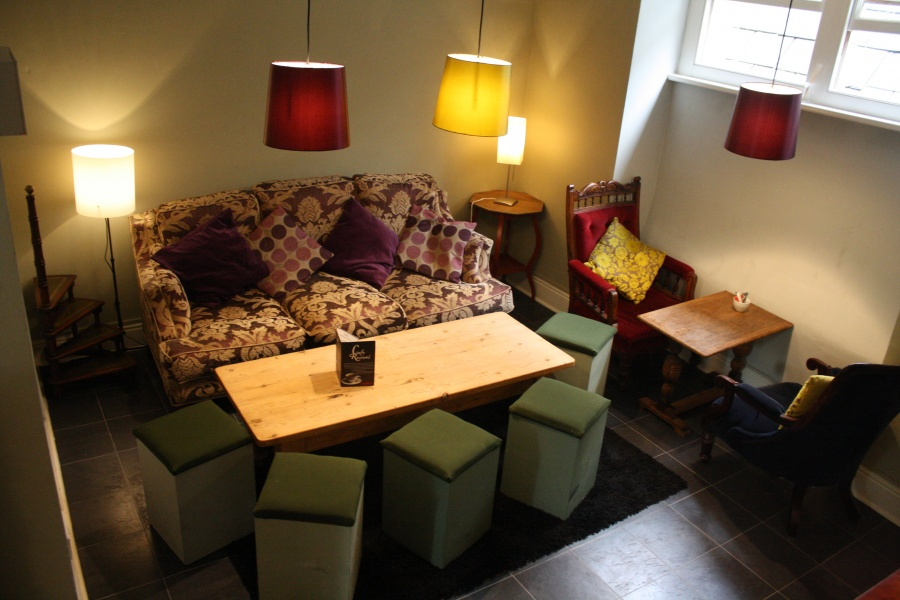 Don't miss the cosy 2nd floor Snug!