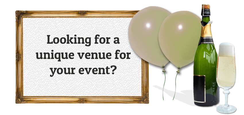 Looking for a unique venue for your event?